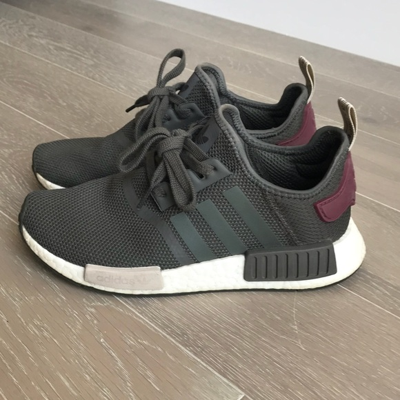 05284a5b9 adidas Shoes - Women s Adidas Nmd R1 Olive Green Maroon